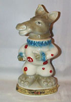 Jim Beam Donkey clown Decanter