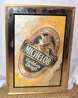 Michelob Golden Draft Beer Mirror