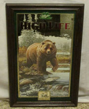 Miller High Life Bear Beer Mirror