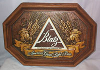 Blatz Wood Grain Sign