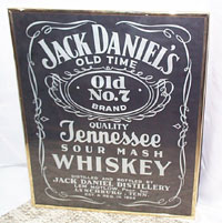 Jack Daniel's Tennessee Whiskey Sign