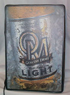Old Milwaukee Genuine Draft Beer Lighted Sign