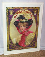 Olympia Beer Framed Poster